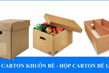 Hộp carton khuôn bế – Hộp carton bế lỗ là gì?