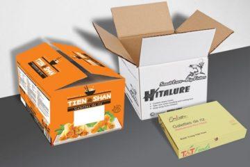 Hộp carton 3 lớp – Hộp sóng carton 3 lớp