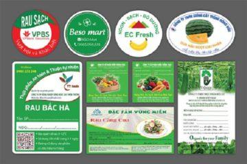 In tem nhãn giá rẻ ở Hà Nội và miễn phí thiết kế