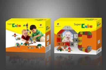 In hộp carton đựng đồ chơi trẻ em
