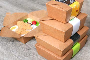 Những lưu ý khi chọn sử dụng hộp giấy đựng thức ăn