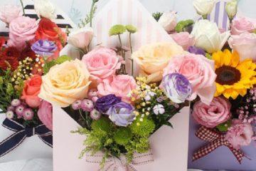 Túi giấy đựng hoa bán sẵn giá rẻ tại Hà Nội