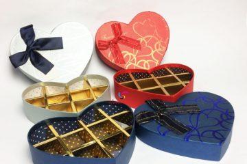 In hộp Socola đẹp giá rẻ cho ngày Valentine
