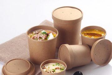 In hộp giấy đựng thức ăn nóng nhanh – đẹp – rẻ