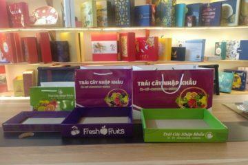 Túi giấy đựng hoa quả bán sẵn giá rẻ Hà Nội