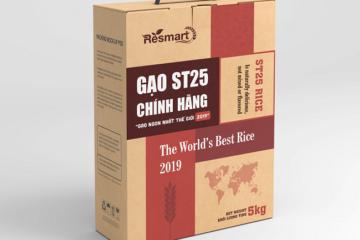 In hộp giấy đựng gạo – hộp đựng gạo 1kg 2kg 5kg 10kg